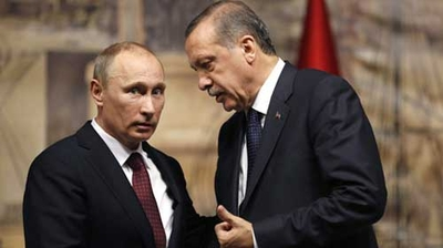Picture of Russia's Putin and Turkey's Erdoğan