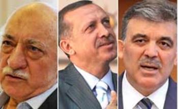 Gülen, Erdoğan, Gül.